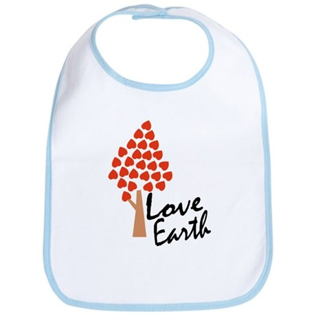 Love Earth (Heart Tree) Bib