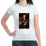 Philosophy John Locke Jr. Ringer T-Shirt