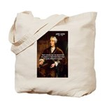 Philosophy John Locke Tote Bag