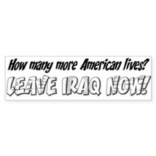 Anti-War: How Many More American Lives
