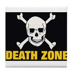 Death Zone Tile Coaster