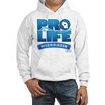 Pro-Life, from conception to Hooded Sweatshirt