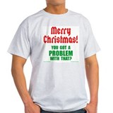 Christmas Problem Ash Grey T-Shirt