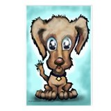 Cool Sad puppy eyes Postcards (Package of 8)