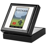 Vietnam Keepsake Box