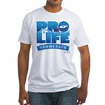 Pro-Life, from conception to Fitted T-Shirt