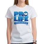 Pro-Life, from conception to Women's T-Shirt