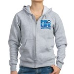 Pro-Life, from conception to Women's Zip Hoodie