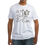 Bite Of Twilight Fitted T-Shirt