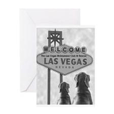 VEGAS WEIM RESCUE Greeting Card