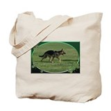 Funny German shephard Tote Bag