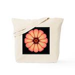 Orange-Red Zinnia I Tote Bag