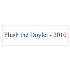 Flush the Doylet Bumper Sticker (10 pk)
