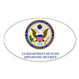 Department of State PSD Oval Decal