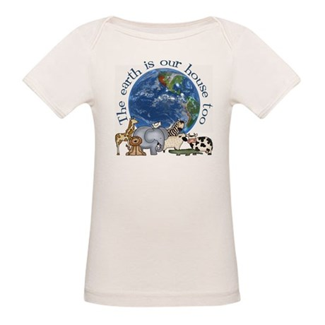 The Earth Is Our House Too Organic Baby T-Shirt