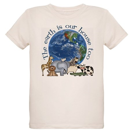 The Earth Is Our House Too Organic Kids T-Shirt