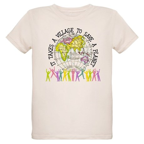It Takes A Village Organic Kids T-Shirt