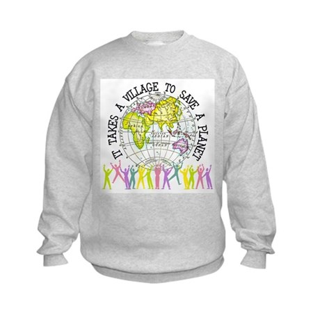 It Takes A Village Kids Sweatshirt