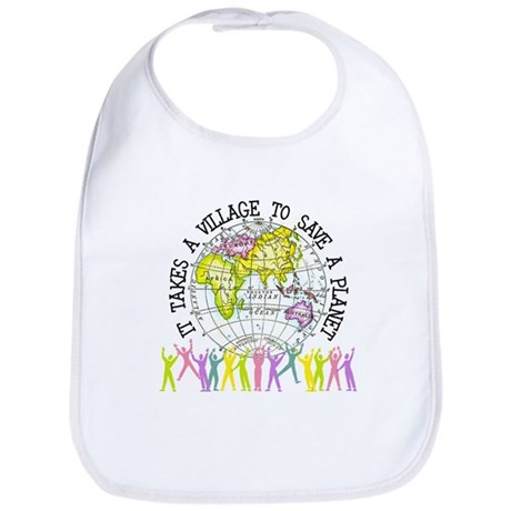 It Takes A Village Bib