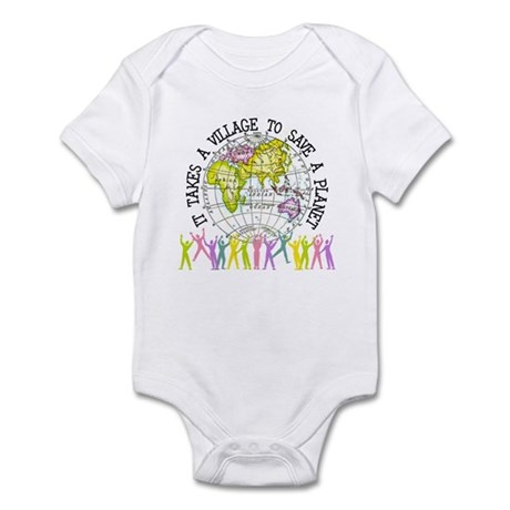 It Takes A Village Infant Bodysuit