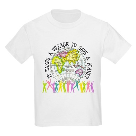 It Takes A Village Kids Light T-Shirt