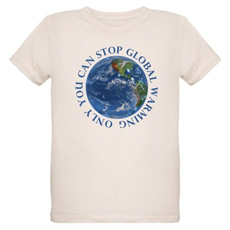 Stop Global Warming T-Shirts Organic Kids T-Shirt