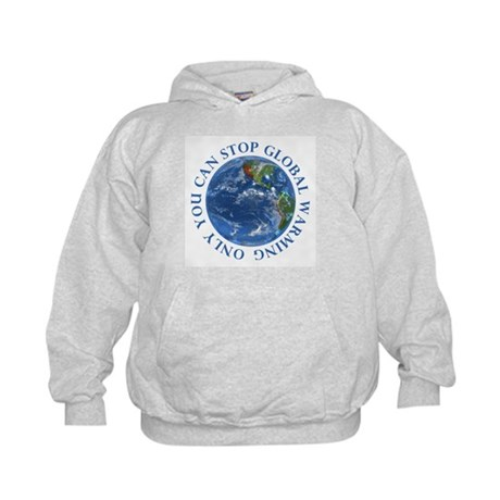 Stop Global Warming T-Shirts Kids Hoodie