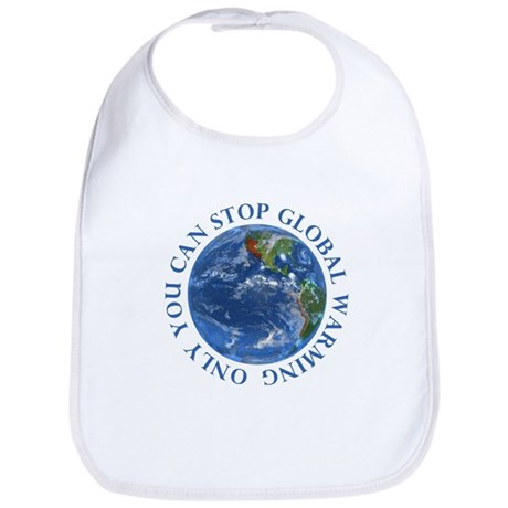 Stop Global Warming T-Shirts Bib