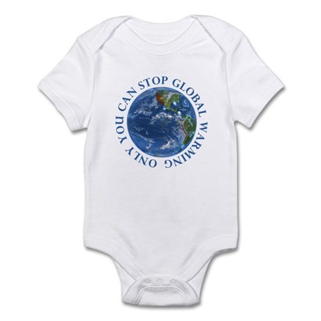 Stop Global Warming T-Shirts Infant Bodysuit