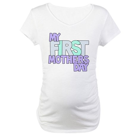 First Mother's Day Maternity Tee