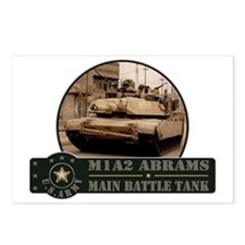 M1 A2 Abrams Tank Postcards (Package of 8)