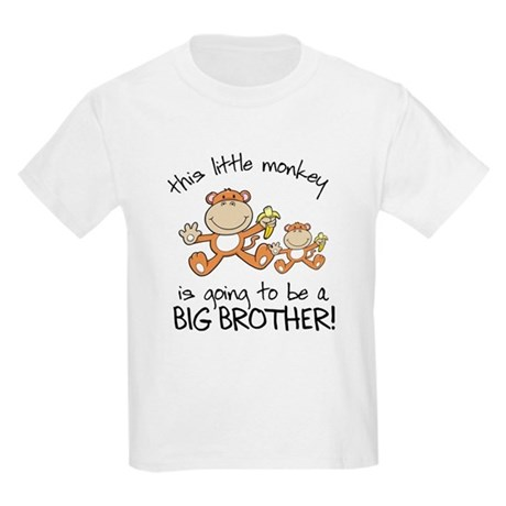 big brother t-shirts monkey Kids Light T-Shirt