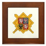 Czech Armed Forces Framed Tile