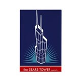 Sears Tower Always Rectangle Magnet