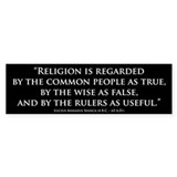 Seneca Quote bumper sticker