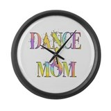 Dance Mom Large Wall Clock