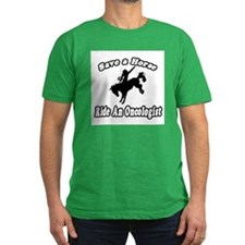 """""""Save Horse, Ride Oncologist"""" T"""