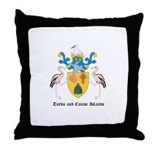 Turk Coat of Arms Seal Throw Pillow