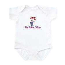 Amy - Police Officer Infant Bodysuit