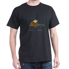 Black TeaBag T-Shirt