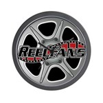 Reelfans Wall Clock