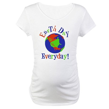 Earth Day t-shirts Maternity T-Shirt