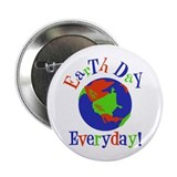 "Earth Day Gifts 2.25"" Button"
