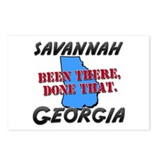 savannah georgia - been there, done that Postcards