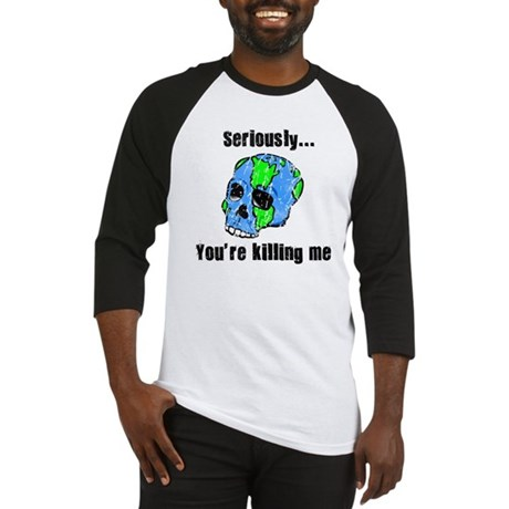 Killing the Earth Baseball Jersey