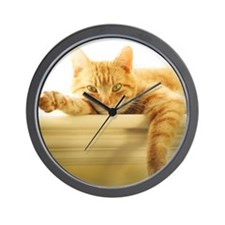 Unique Kitty Wall Clock