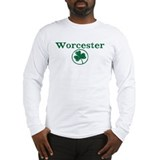 Worcester shamrock Long Sleeve T-Shirt