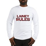 lainey rules Long Sleeve T-Shirt