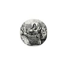 God Unity of All: Leibniz Mini Button (100 pack)