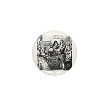God Unity of All: Leibniz Mini Button (10 pack)